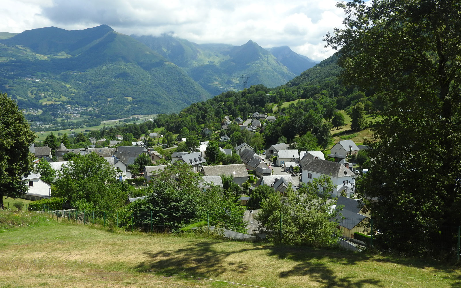 In Arcizans-Avant, a charming Pyrenean village
